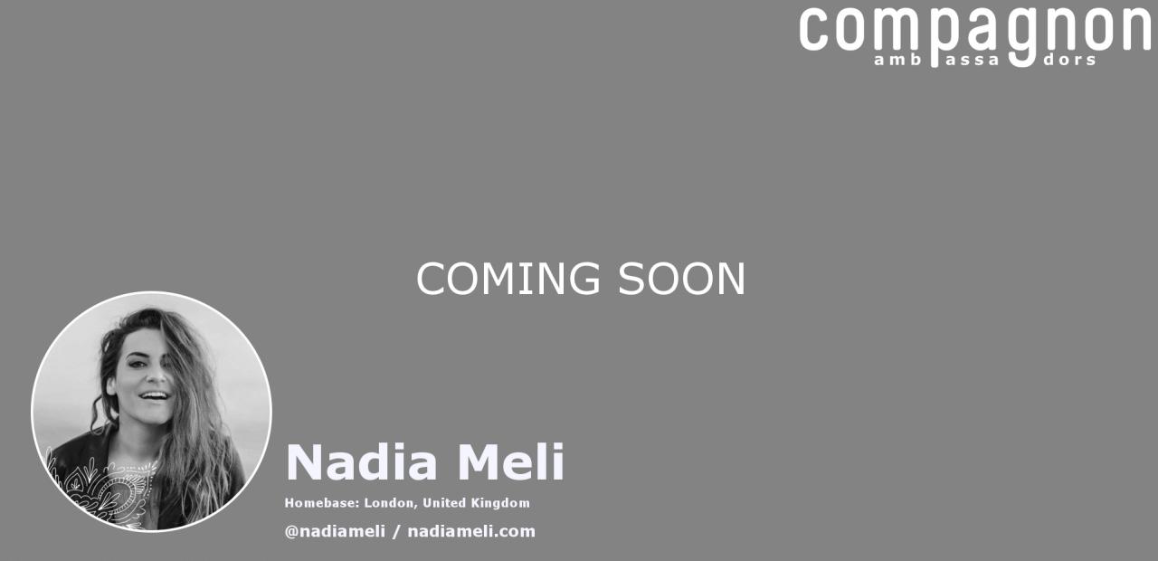 nadia_meli_compagnon_ambassador